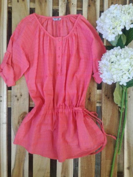 Дамска рокля/туника с връзки